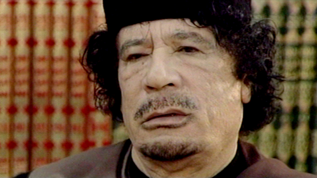 Gaddafi Interview